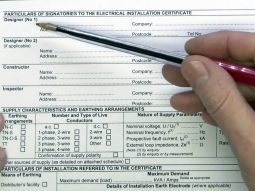 Electrical certificates like Electrical Installation condition report( EICR) for agents, landlords and tenant. Landlord certificate